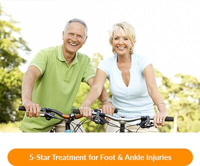 foot & ankle injuries in waxahachie tx