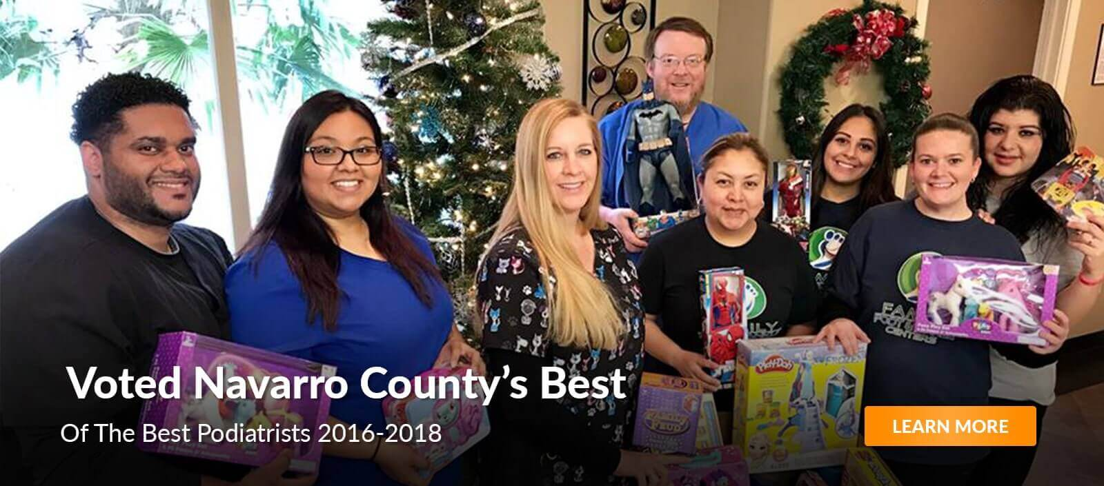 navarro county's best podiatrist