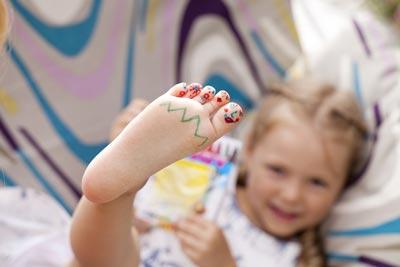 pediatric foot care in ennis tx