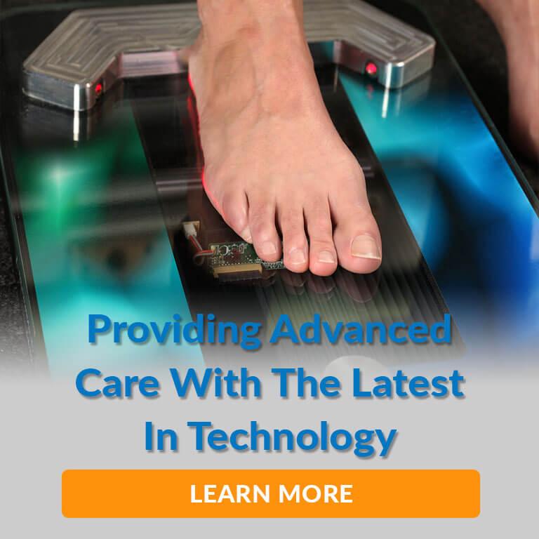 advanced podiatry care services